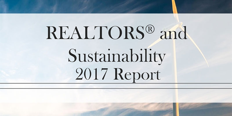 Majority of Realtors® Say Clients Interested in Sustainability