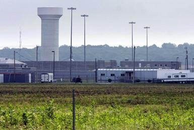 A rural area prison